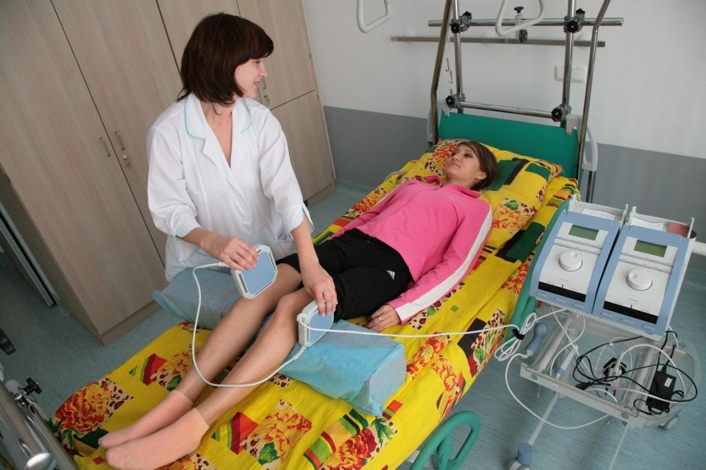 Процедуры в физиотерапевтическом кабинете